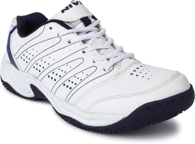 Nivia Zeal Tennis Shoes For Men(White)  available at flipkart for Rs.1529
