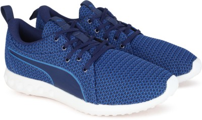 7261a06386a4 50% OFF on Puma Carson 2 Knit IDP Running Shoes For Men(Blue) on Flipkart