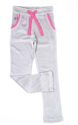 U.S. Polo Assn Relaxed Girls Grey Trousers