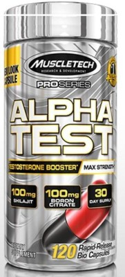 Muscletech Pro Series AlphaTest, Max-Strength Test Booster (120 Capsules)