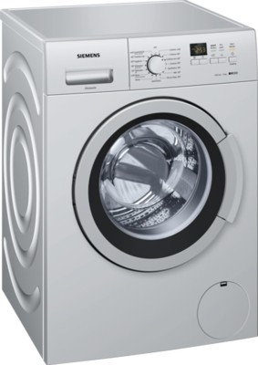 Siemens 7 kg Fully Automatic Front Load Washing Machine Grey(WM12K169IN) (Siemens)  Buy Online