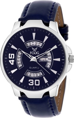 Fogg 1135-BL Day And Date Analog Watch For Men