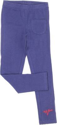 U.S. Polo Assn Track Pant For Girls(Blue Pack of 1)