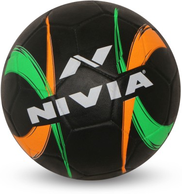 Nivia Street Ball Football -   Size: 5(Pack of 1, Black)  available at flipkart for Rs.424