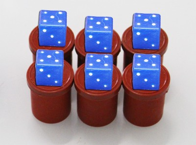 AKSHAT Six Sided Dice For Casino Chips Set For Poker games, Snake and ladder Board Game Board Game  available at flipkart for Rs.199