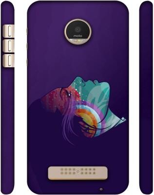 Casotec Back Cover for Motorola Moto Z Play Multicolor