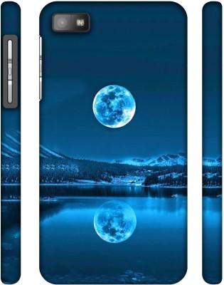 Casotec Back Cover for Blackberry Z10(Multicolor)