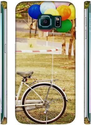 Casotec Back Cover for Samsung Galaxy S6 Edge Multicolor