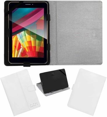 ACM Flip Cover for Iball Slide Q7271 Ips20 3g(White, Cases with Holder)