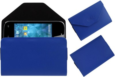 ACM Pouch for Spice Smart Flo Space Mi-354(Blue, Cases with Holder)