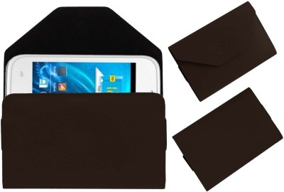 ACM Pouch for Spice Smart Flo Ivory 2 Mi-423(Brown, Cases with Holder)