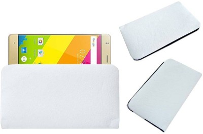 ACM Pouch for Zopo Color F5 White, Cases with Holder