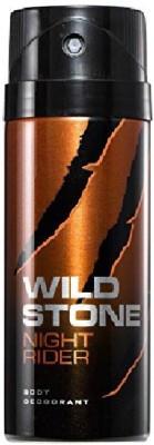 Wild Stone Night Rider Deodorant Spray  -  For Men(150 ml)