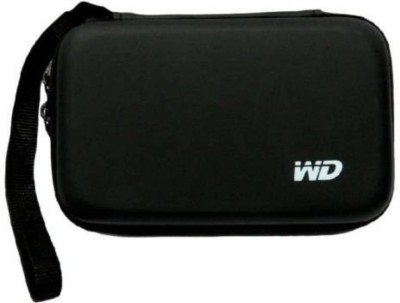 Gadget Deals Pouch for Seagate, Toshiba, WD, Sony, Transcend, Lenovo, ADATA, HP & Hitachi 2.5 inch External Hard Disks(Black, Artificial Leather)