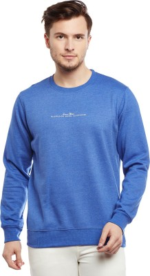 RICHLOOK Full Sleeve Solid Men Sweatshirt