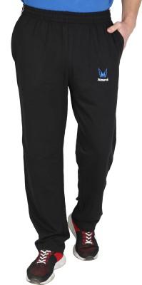 4f8eb09328ff 54% OFF on MONARCH Solid Men s Black Track Pants on Flipkart ...