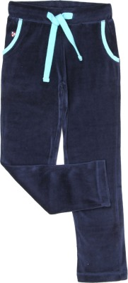 U.S. Polo Assn Relaxed Girls Blue Trousers