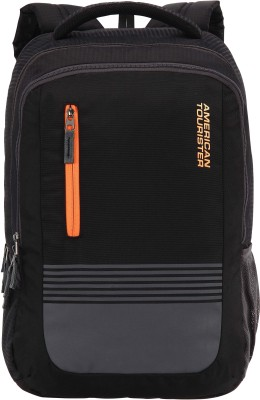 American Tourister AMT Aero 21 L Laptop Backpack(Black)