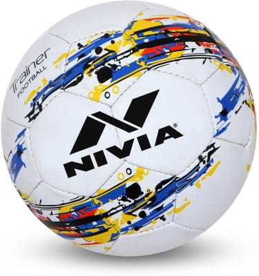 Nivia Trainer Football - Size: 3(Pack of 1, White)  available at flipkart for Rs.419