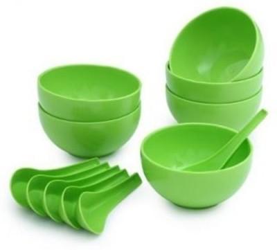 Ranveer Trading Co 1001 Plastic Soup Bowl Green, Pack of 12 Ranveer Trading Co Bowls