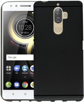 ARCMOBI Back Cover for Lenovo K8 Note (MATTE-LINE CASE)(Metallic Black, Shock Proof, Flexible Case) Flipkart