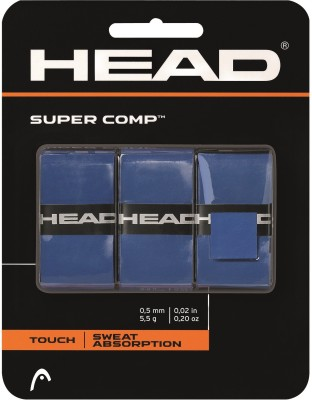 Head Super Comp Blu Extra Tacky  Grip(Blue, Pack of 1)