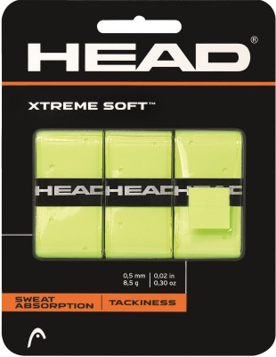 Head Extreme Soft Ylw Spring Band  Grip(Yellow, Pack of 3)