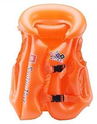 MK Colorful Inflatable life vest and jacket For Kids(Medium)- Multicolor Inflatable Pool(Multicolor)