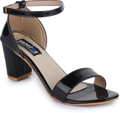 Sapatos Women STA-3010-Black Heels