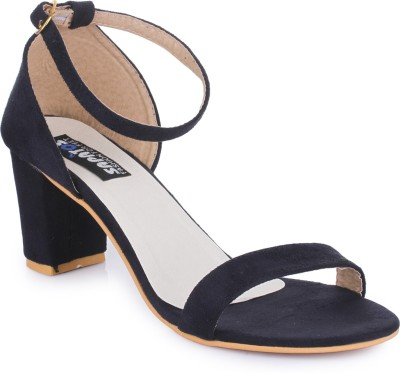 Sapatos Women STA-3012-Black Heels