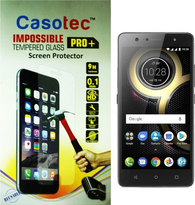 Casotec Impossible Screen Guard for Lenovo K8 Plus(Pack of 1)