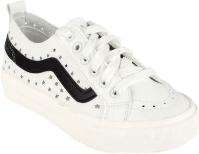 Go India Store Sneakers For Women(White)