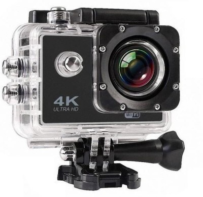 View Drumstone wifi Camera Wifi 4K Ultra HD Waterproof Sports Camera with 2 inch LCD Display Sports and Action Camera(Multicolor 16 MP)  Price Online