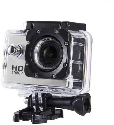 Drumstone Action Camera HD 1080p 12MP Waterproof Action Camera Sports and Action Camera(Multicolor, 12 MP)