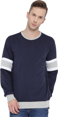 Teesort Full Sleeve Solid Men Sweatshirt