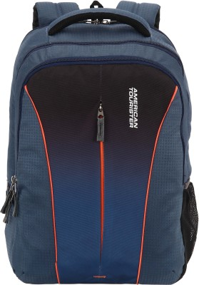 59b156e145f American Tourister AMT Juke 21 L Laptop Backpack(Blue)