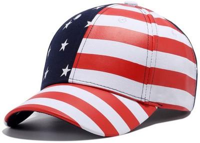 Novasox Striped USA Flag Print, Baseball Cap