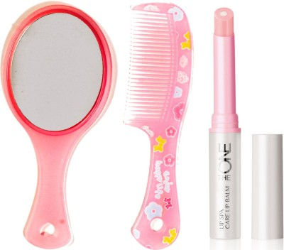 Oriflame Sweden The ONE Lip Spa Care Lip Balm 1.7g ( Transparent - 31442 ) With Mirror & Comb Set(Set of 3)  available at flipkart for Rs.340