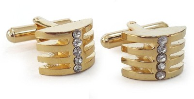 Miami Brass, Gold Cufflink(Gold)
