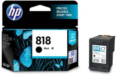 HP 818 Single Color Ink(Black)