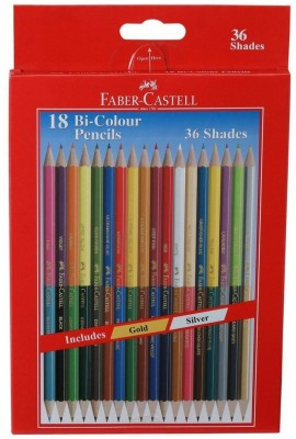 Faber-Castell New Round Shaped Pencils(Set of 1, Multicolor)  available at flipkart for Rs.200