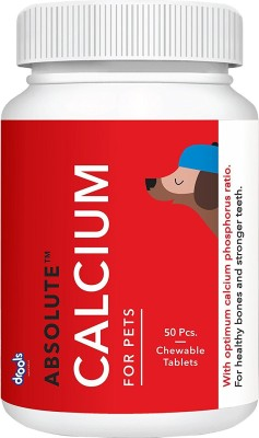 Drools Calcium Supplement Tablet(50 tablets)  available at flipkart for Rs.299