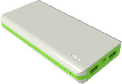 Syska Power Juice 20000 mAh Power Bank White & Green
