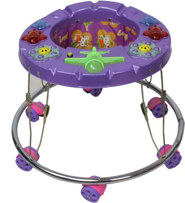BABY SHOP Musical Activity Walker(Purple)  available at flipkart for Rs.699