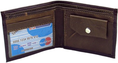 Cyclone Men Brown Genuine Leather Wallet(10 Card Slots)  available at flipkart for Rs.120