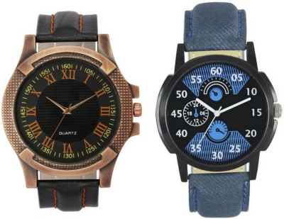 Piu collection PC_VL23LR02 Leather Strap Men Hybrid Watch  - For Men & Women   Watches  (piu collection)