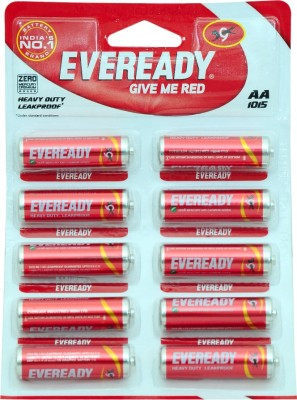 Eveready Give Me Red AA  Battery(Pack of 10)
