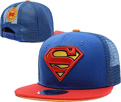 Nimble House Embroidered Superman Featuring Mesh Back Cap