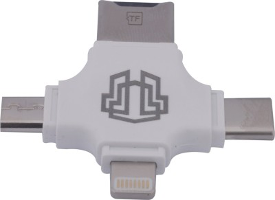 Thrumm Legion USB Card Reader(White)