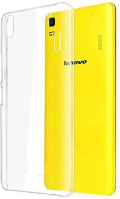 Power Back Cover for Lenovo K3 Note(Transparent, Silicon, Rubber)
